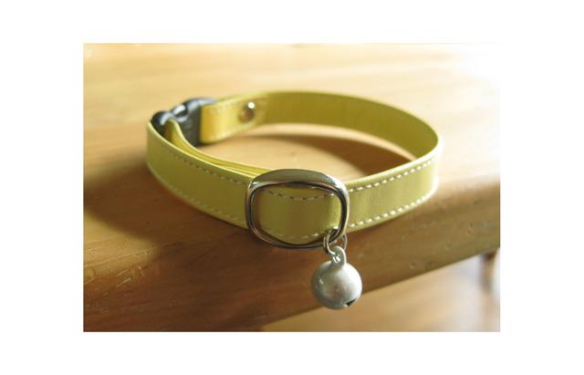 【再販】cat collar * citron