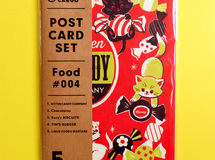 POST CARD SET / Food #004