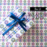 【WRAPPING PAPER】春の花(4枚入り/ラッピングペーパー)