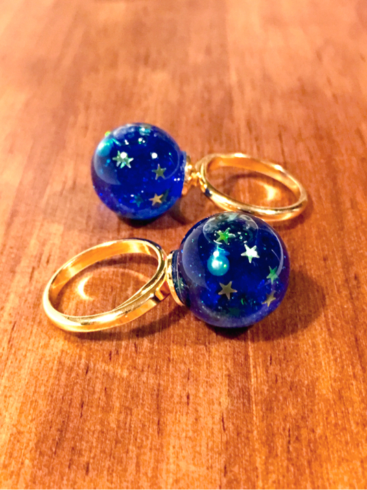planetarium  /流動タイプ  指輪