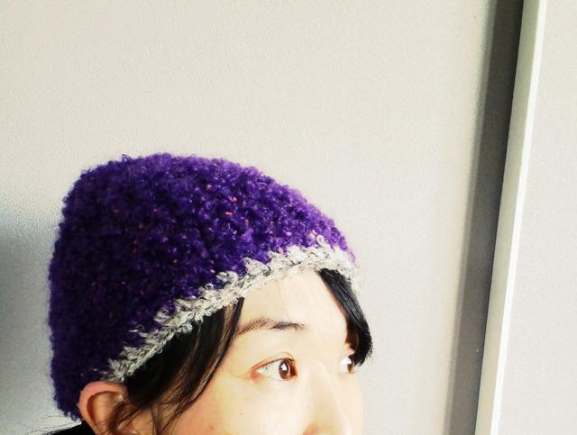 ブルベリー帽