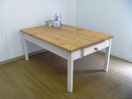 【 Drawer low TABLE w900 】