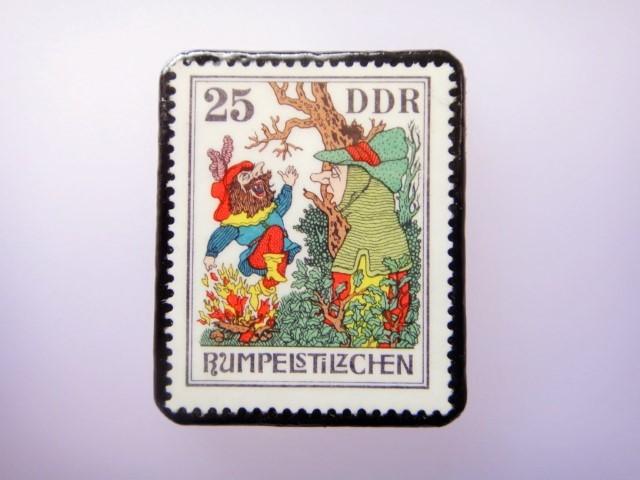 ドイツ 童話切手ブローチ911