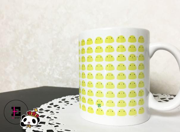ひよこ。っぽい。マグカップ。