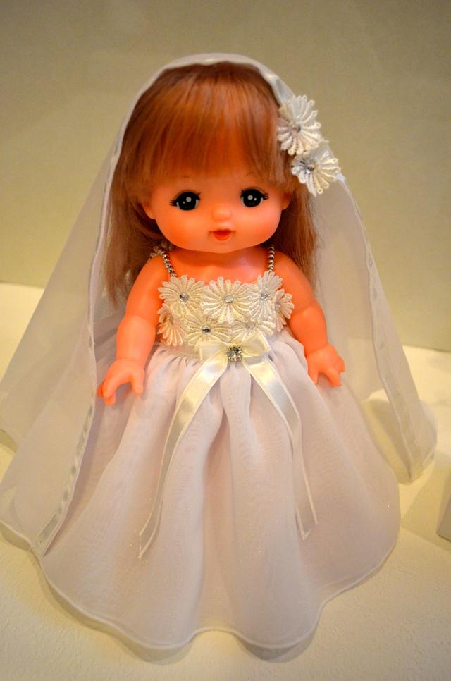 メルちゃん お花のウェディングドレス