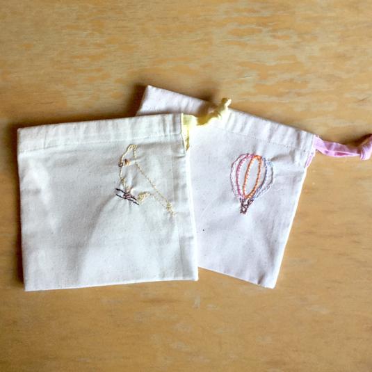 【mさまオーダー】ナフキン・巾着セット