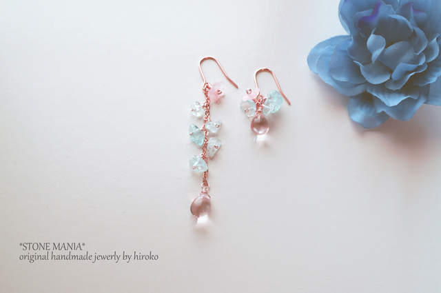 ?Lady blue&pink pierce?