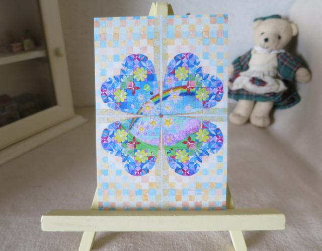 ?桜の季節キラキラカードと別のカード 2種類セット