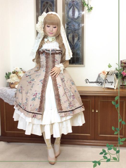 ミレスリディアコルセットドレス