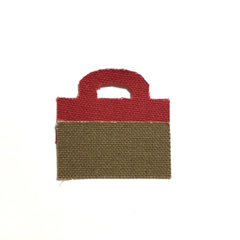 Y様ご予約「bicolor tote S」 red×beige