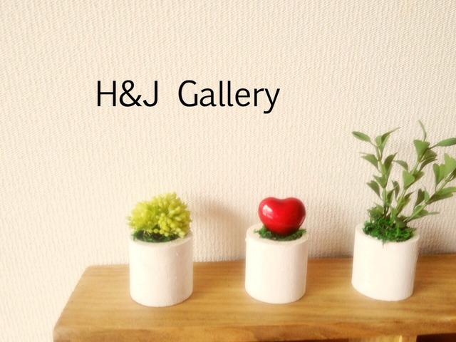 ☆小さな植木鉢*バレンタイン シングルハート