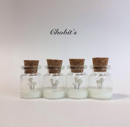 ヒカリ茸のボトル「蓄光」