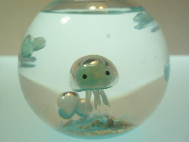 ぷちアクアリウム くらげちゃん ボール型 クラゲ