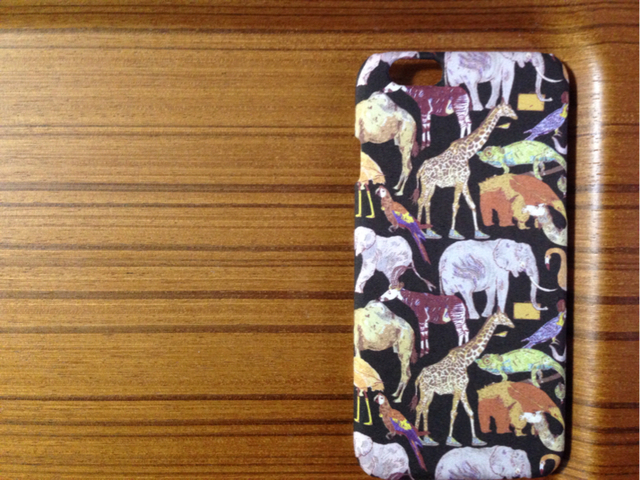 *iPhone4/5/5s/5c/6/6s/7*Queue for the Zoo*BR*リバティ*カバー*