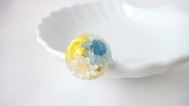 Flower Ring (Yellow)