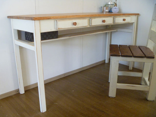 【 Drawers3 TABLE w1400 】
