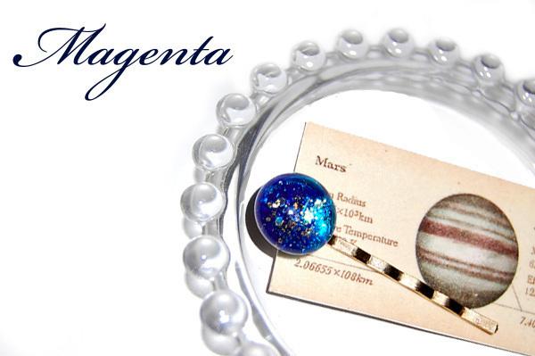 Little Planet :星空ヘアピン:S28-GLD-31