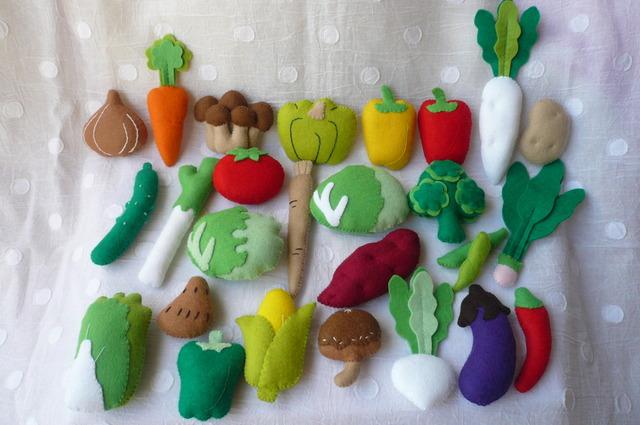 【送料無料】フェルトお野菜26種類