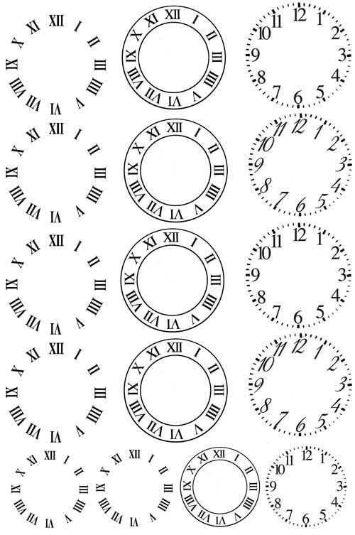 Ww06時計文字盤針無し28mm レジン用