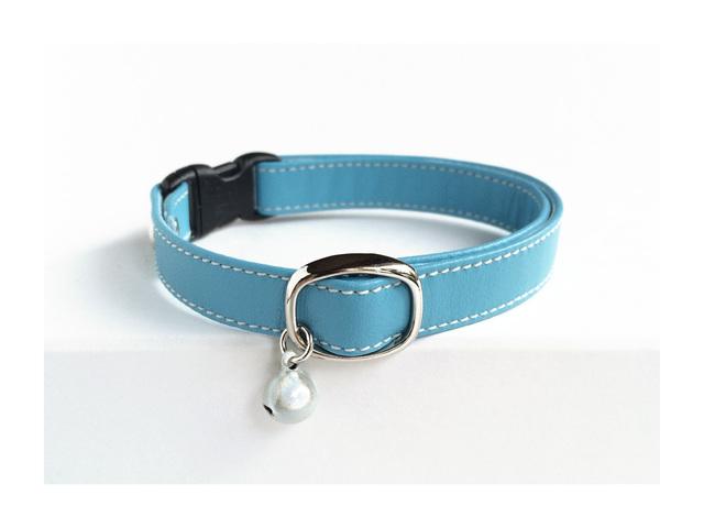 【再販】cat collar * sky(S)
