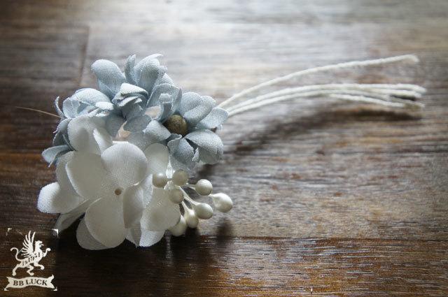 corsage ���� ���۲֤ȥޡ�����åȤΥ��������� �� white �� blue grey ��