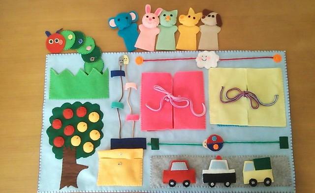 赤ちゃん おもちゃ 手作り 布 ボール