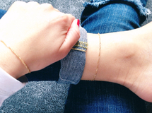 再販×350♡simple shiny bracelet or anklet