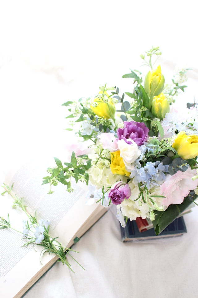 flower arrangement gift*mother's day 2016