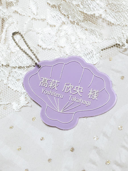 Wedding Place Cards 【SHELL】★パープ...