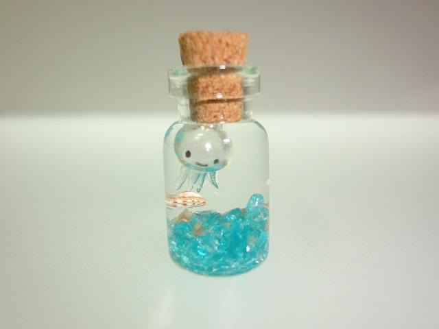 ぷちアクアリウム くらげ ミニボトル クラゲ