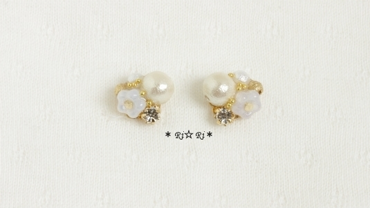 little  flower(ホワイト)