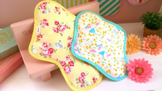 可愛い布ナプキン『昼用M&Lsize』bセット