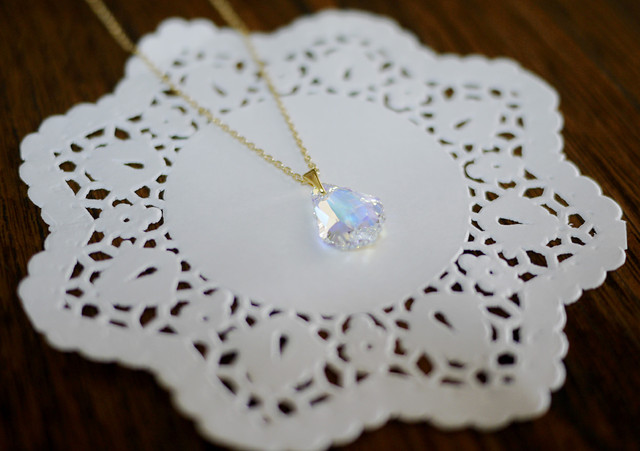 (Sold out)Chandelierネックレス【Aurora】