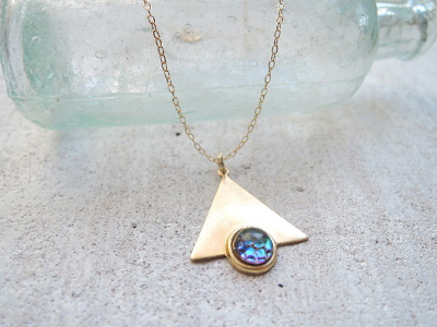 Mermaid Triangle Necklace