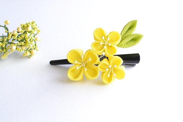 <再再販>tumami*菜の花 クリップ