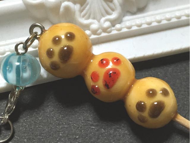 ほっこり和菓子!肉球みたらし団子