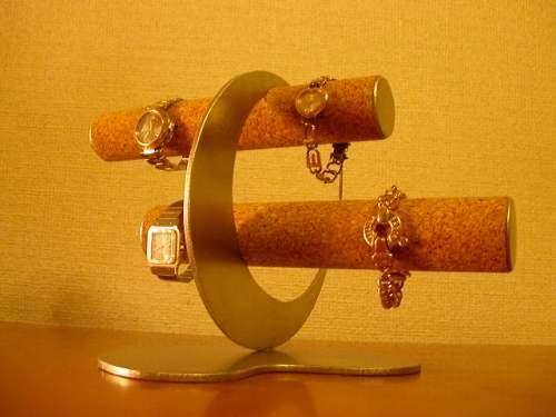 時計スタンド  6本掛け三日月腕時計スタンド