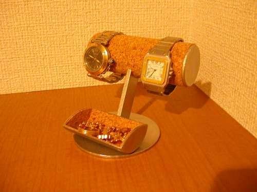 腕時計収納、保管!小物入れ付き腕時計スタンド