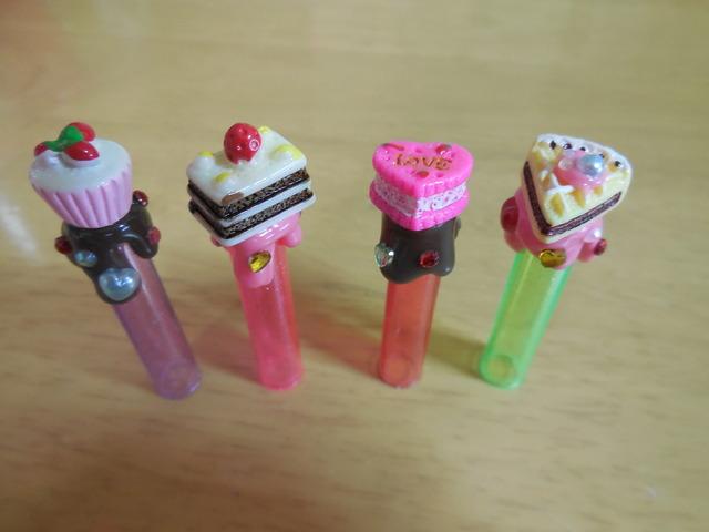 デコ・鉛筆キャップ 4個セット 14-3