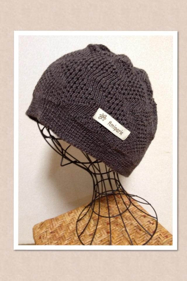 頭にやさしい帽子