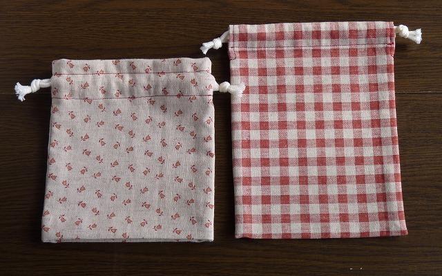 入学入園用 小さい巾着 2枚セット