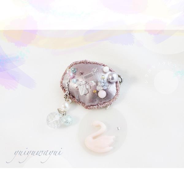 シラユキノタビニッキのブローチ*(6)