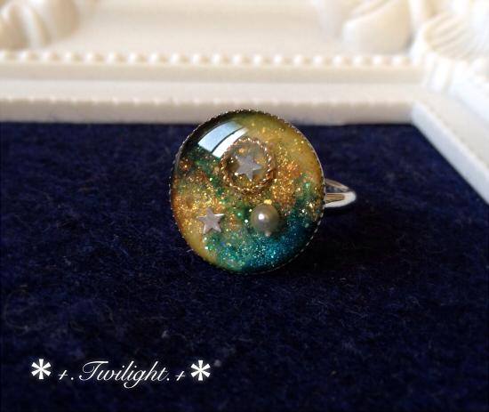 「*+.Universe.+*」指輪?