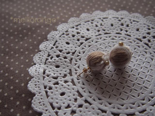 truffle choco pierce*トリュフチョコピアス 02