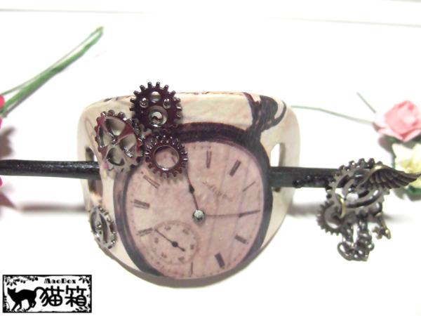 髪飾り『時計仕掛け』