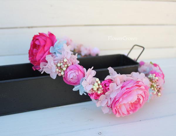 花かんむり +ピンク+ #18#