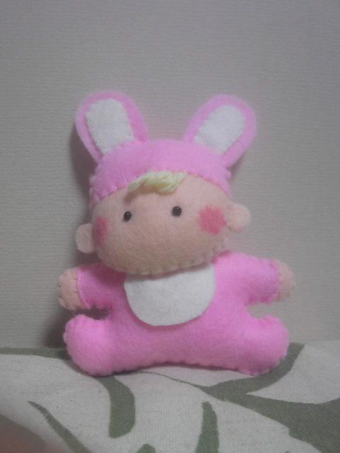 癒しのべィビーちゃん(ピンク)