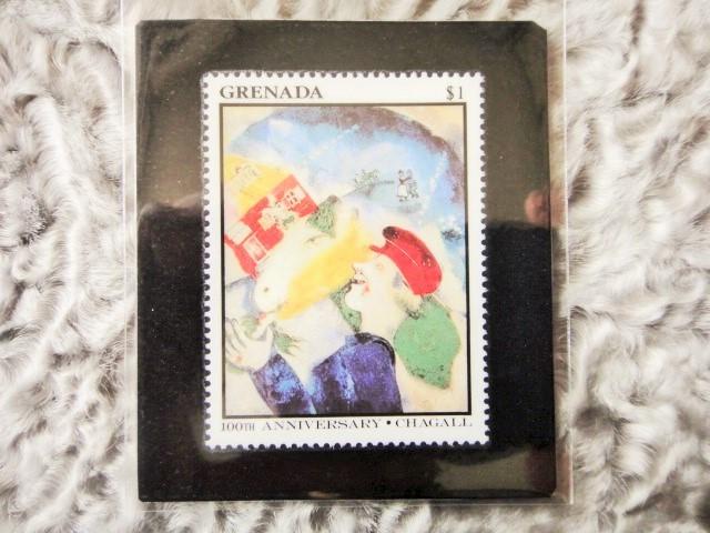 アートボックス用美術切手 962