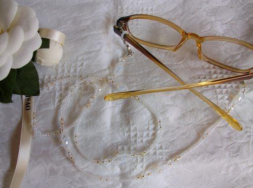 3WAYグラスコード トロワ・ホワイト