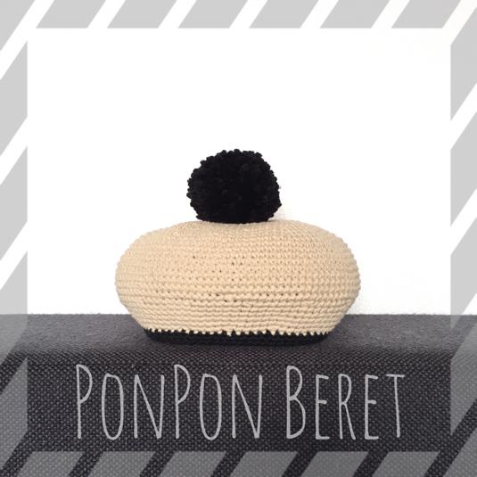 ポンポンベレー帽 / クラシック